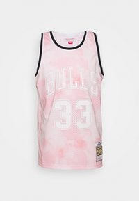 Mitchell & Ness - NBA CHICAGO BULLS SCOTTIE PIPPEN CLOUDY SKIES SWINGMAN - Klubové oblečení - light pink - 0