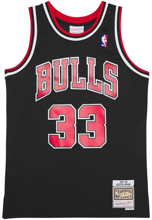 TANKTOP NBA 2.0 CHICAGO BULLS - SCOTTIE PIPPEN #33 - Klubtrøjer - black