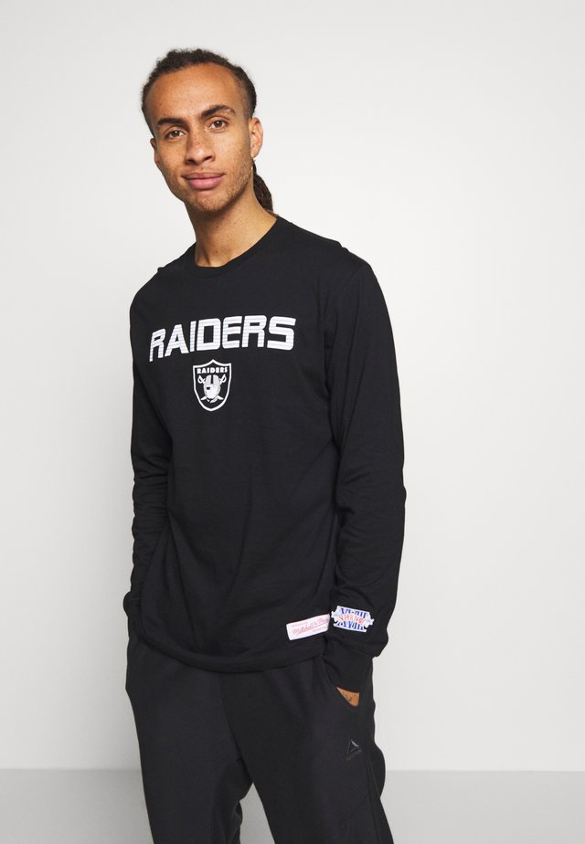 NFL OAKLAND RAIDERS HOWIE LONG THE 80S SUPERBOWL PACK LONGSLEEVE - Klubové oblečení - black