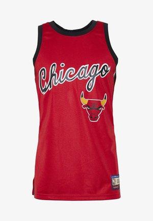 NBA CHICAGO BULLS TEAM HERITAGE TANK - Klubové oblečení - raptors red