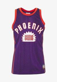 Mitchell & Ness - NBA PHOENIX SUNS TEAM HERITAGE TANK - Klubové oblečení - orange - 5