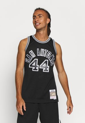 NBA SAN ANTONIO SPURS GEORGE GERVIN SWINGMAN - Klubbkläder - black
