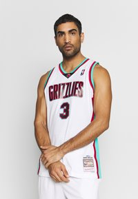 Mitchell & Ness - NBA VANCOUVER GRIZZLIES BRYANT REEVES NBA SWINGMAN - Fanartikel - white - 0