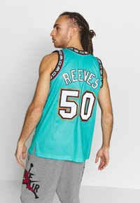 Mitchell & Ness - NBA VANCOUVER GRIZZLIES BRYANT REEVES NBA SWINGMAN - Fanartikel - teal - 2
