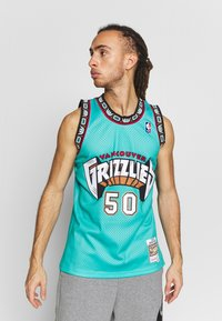 Mitchell & Ness - NBA VANCOUVER GRIZZLIES BRYANT REEVES NBA SWINGMAN - Fanartikel - teal - 0