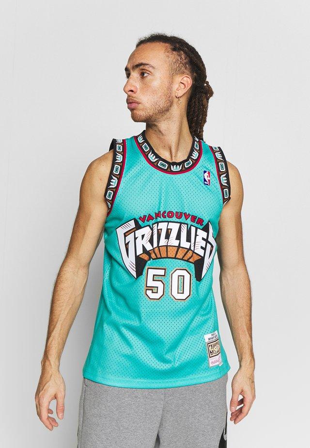 NBA VANCOUVER GRIZZLIES BRYANT REEVES NBA SWINGMAN - Klubové oblečení - teal