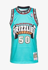 Mitchell & Ness - NBA VANCOUVER GRIZZLIES BRYANT REEVES NBA SWINGMAN - Fanartikel - teal - 3
