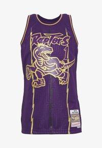 Mitchell & Ness - NBA TORONTO RAPTORS SWINGMAN TRACY MCGRADY - Fanartikel - purple - 5