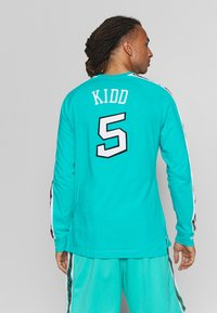Mitchell & Ness - NBA ALL STAR WEST NAME NUMBER LONGSLEEVE JASON KIDD - Klubové oblečení - teal - 2