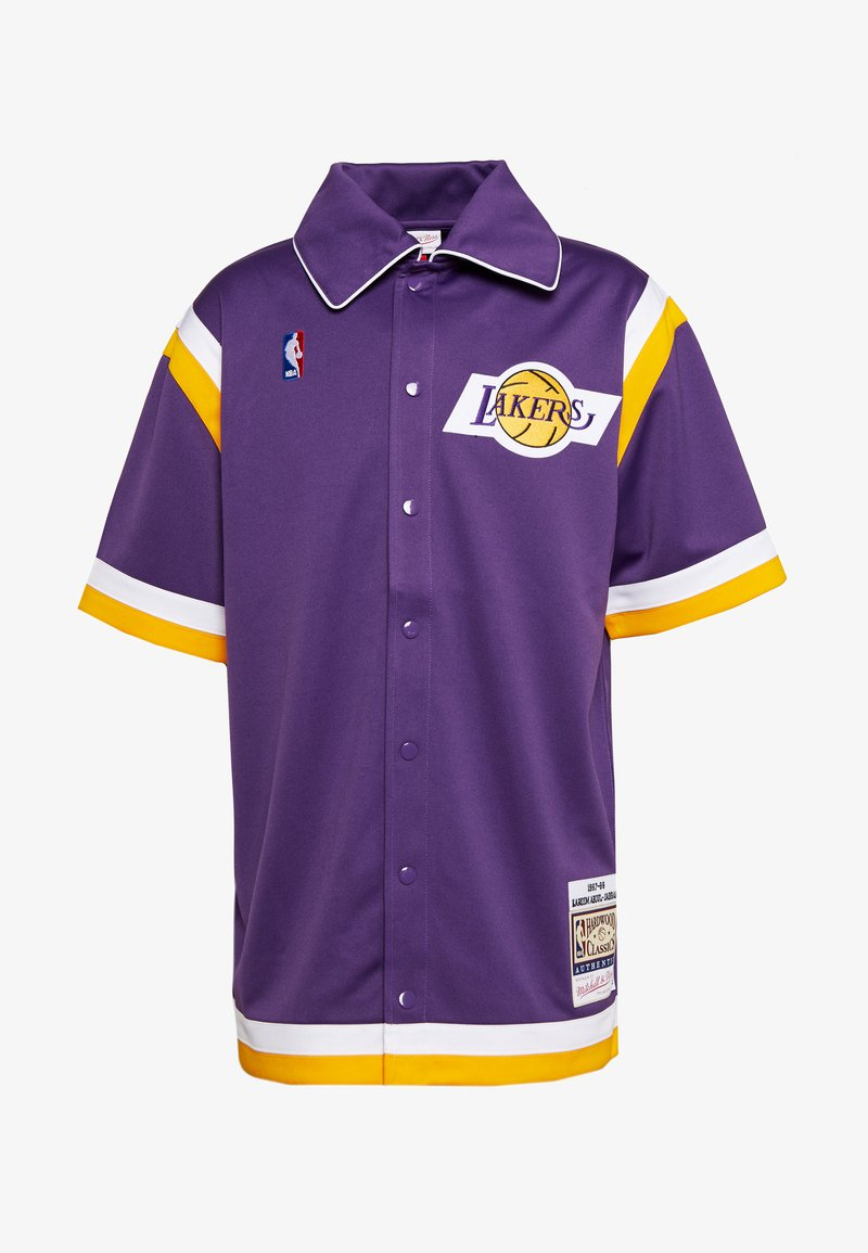 Mitchell & Ness - NBA LA LAKERS AUTHENTIC SHOOTING SHIRT - Fanartikel - purple