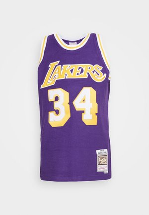 NBA LA LAKERS REVERSED SWINGMAN O'NEAL - Klubové oblečení - purple