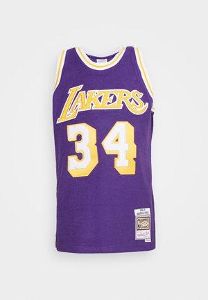 NBA LA LAKERS REVERSED SWINGMAN O'NEAL - Top - purple