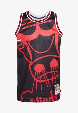 NBA CHICAGO BULLS BIG FACE BULLS  - Artykuły klubowe - black