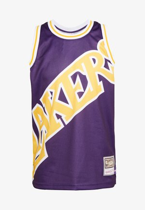 NBA LA LAKERS BIG FACE LAKERS  - Klubtrøjer - purple