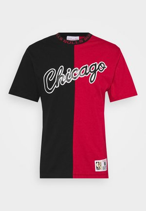 NBA CHICAGO BULLS SPLIT COLOR - Article de supporter - black/red