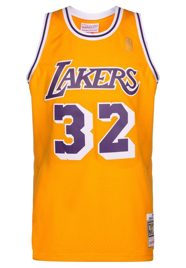 NBA LA LAKERS SWINGMAN 2.0 MAGIC JOHNSON BASKETBALLTRIKOT HERREN - Fanartikel - yellow