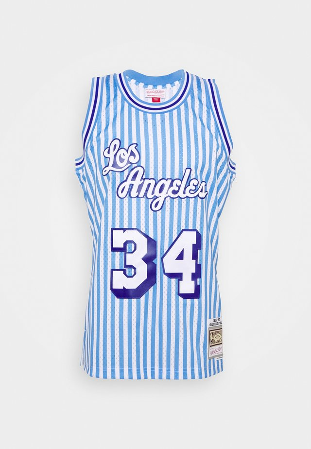 NBA LOS ANGELES LAKERS STRIPED SWINGMAN O'NEAL - Squadra - blue