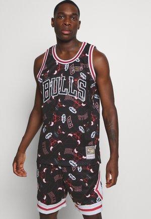 NBA CHICAGO BULLS TEAR UP PACK SWINGMAN - Klubové oblečení - black