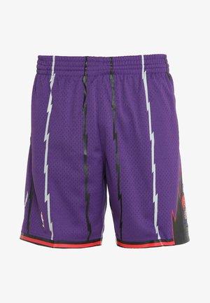 TORONTO RAPTORS 1998 ROAD NBA SWINGMAN  - Korte broeken - purple
