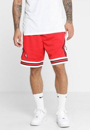 SWINGMAN SHORTS CHICAGO BULLS - Short de sport - red/white