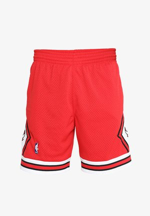 SWINGMAN SHORTS CHICAGO BULLS - Korte broeken - red/white