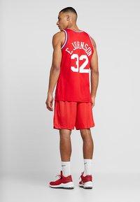 Mitchell & Ness - NBA ALL STAR 1991 PRACTICE SHORT - Korte broeken - red - 2