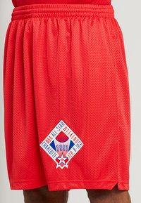 Mitchell & Ness - NBA ALL STAR 1991 PRACTICE SHORT - Korte broeken - red - 4