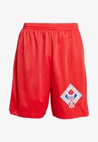 Mitchell & Ness - NBA ALL STAR 1991 PRACTICE SHORT - Korte broeken - red - 3