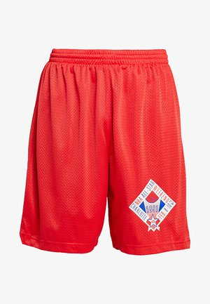 NBA ALL STAR 1991 PRACTICE SHORT - Sports shorts - red