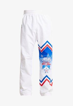 NBA ALL STAR EAST 1991 WARM UP PANT - Trainingsbroek - white