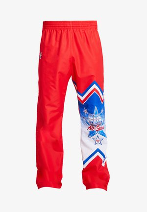 NBA ALL STAR EAST 1991 WARM UP PANT - Spodnie treningowe - red
