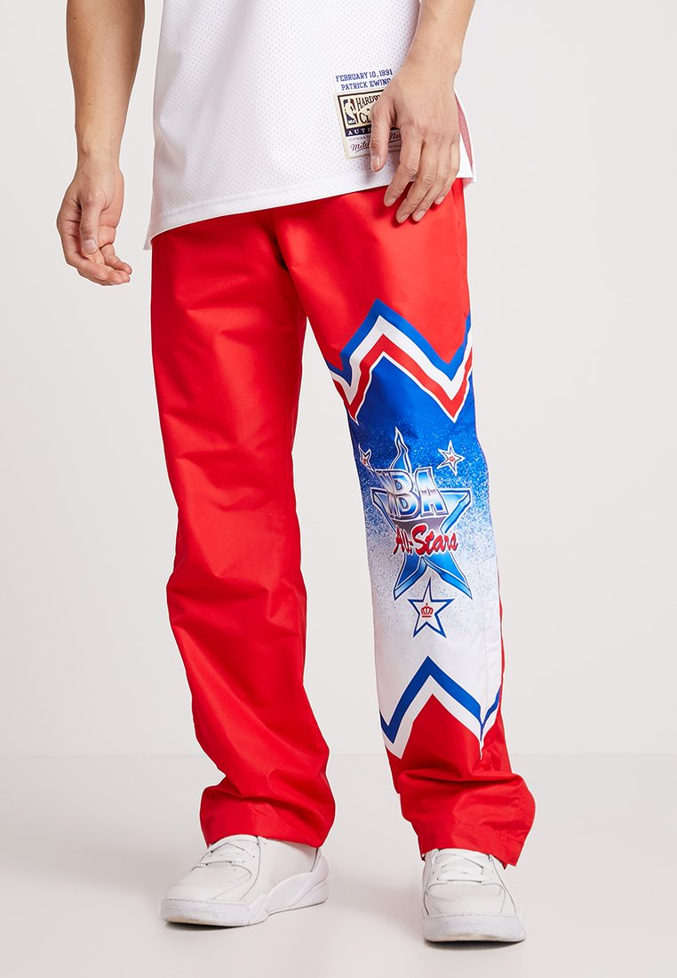 Mitchell & Ness - NBA ALL STAR EAST 1991 WARM UP PANT - Træningsbukser - red