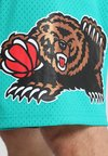 Mitchell & Ness - NBA SWINGMAN VANCOUVER GRIZZLIES - Sports shorts - teal