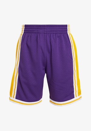 NBA SWINGMAN SHORTS LA LAKERS - Urheilushortsit - purple/yellow