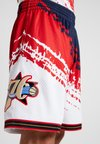 Mitchell & Ness - NBA PHILADELPHIA 76ERS INDEPENDENCE SWINGMAN SHORT - Sports shorts - white