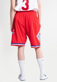 Mitchell & Ness - NBA SWINGMAN SHORTS ALL STAR WEST 1991 - Short de sport - red - 2