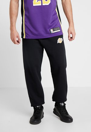 NBA LOS ANGLES LAKERS PANT - Verryttelyhousut - black