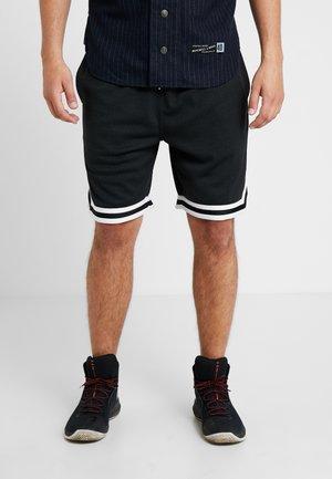 BRANDED BASIC SHORT - Short de sport - black