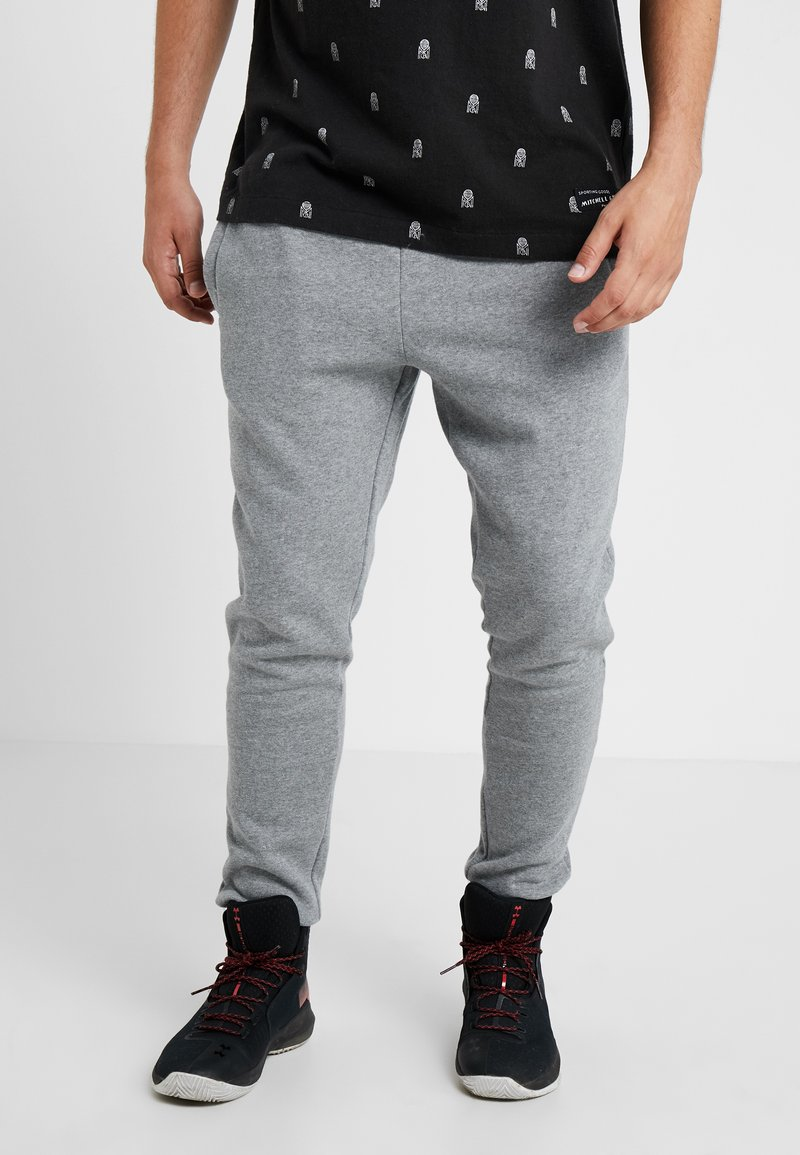 Mitchell & Ness - BRANDED  - Tracksuit bottoms - grey heather