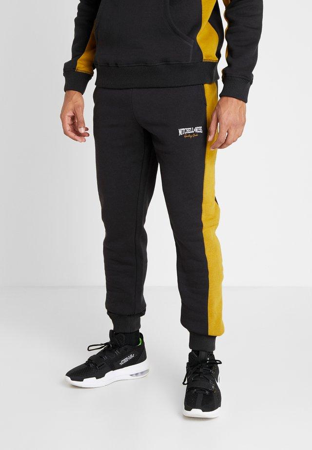 PANELED - Træningsbukser - black