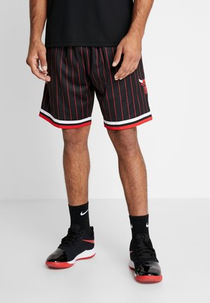 NBA SWINGMAN SHORTS CHICAGO BULLS - Pantalón corto de deporte - black pinstripe