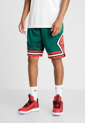NBA GREEN WEEK SHORTS CHICAGO BULLS 2008-09 - Pantalón corto de deporte - green