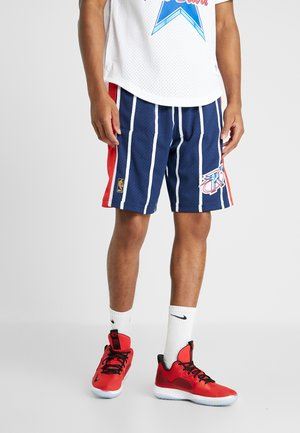 NBA SWINGMAN SHORTS HOUSTON ROCKETS - Pantalón corto de deporte - navy/red