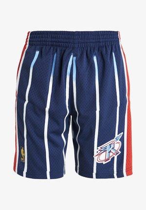 NBA SWINGMAN SHORTS HOUSTON ROCKETS - Krótkie spodenki sportowe - navy/red