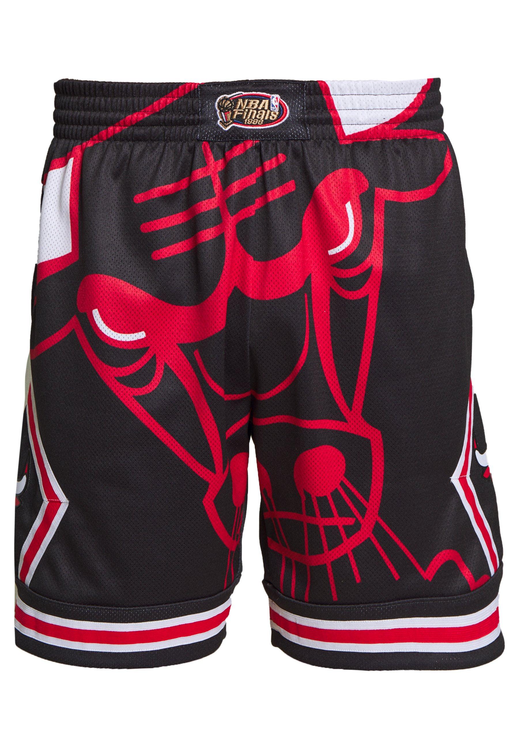 Mitchell & Ness NBA CHICAGO BULLS BIG FACE SHORT Short de