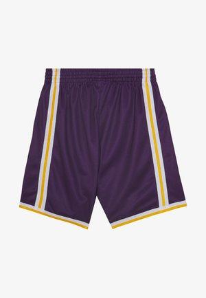 NBA LA LAKERS BIG FACE SHORT - Sports shorts - purple