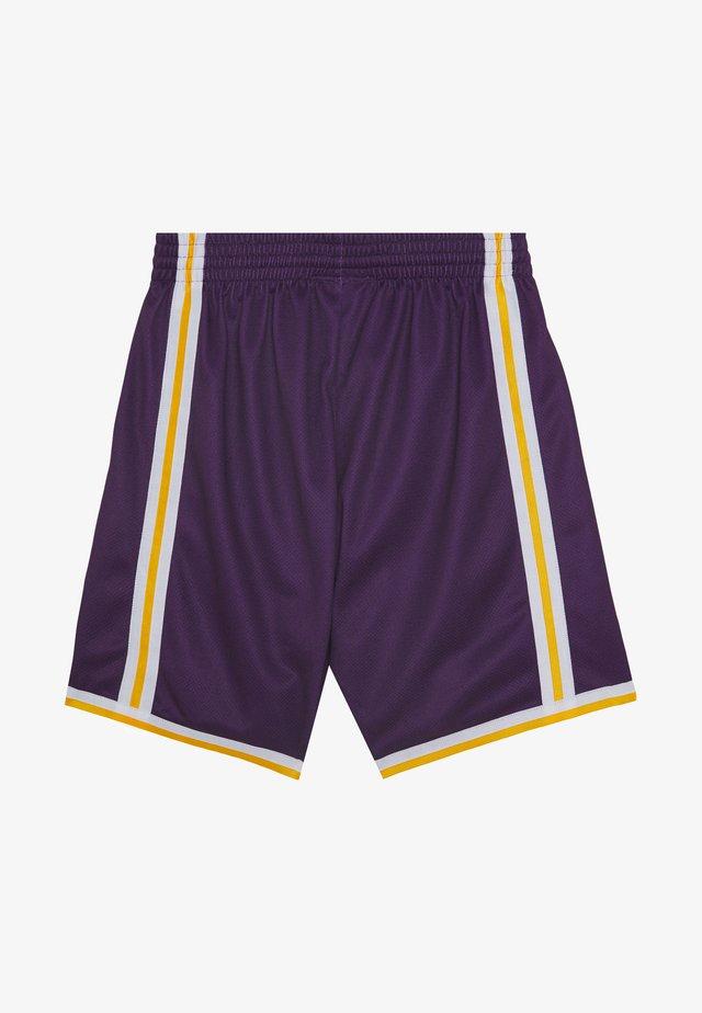 NBA LA LAKERS BIG FACE SHORT - Korte sportsbukser - purple