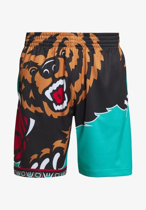NBA VANCOUVER GRIZZLIES BIG FACE - Sports shorts - teal