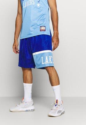 NBA LOS ANGELES LAKERS TEAM HERITAGE SHORTS - Sports shorts - royal