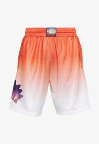 Mitchell & Ness - NBA PHOENIX SUNS TEAM HERITAGE SHORTS - Korte broeken - orange/white - 4